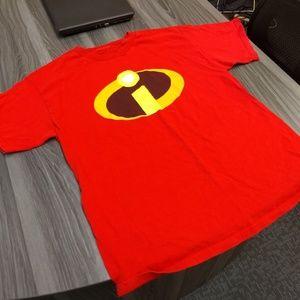 Disney Shirts - INCREDIBLES T-SHIRT 👕 DISNEY PIXAR LOGO AUTHENTIC